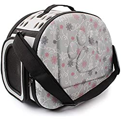 ZIXUN Pet Handbag Hollow-Out Portable Pet Travel Carrier Backpack for Small Dogs Cats Outdoor