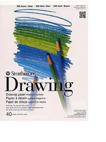Strathmore Student Art Drawing Paper Pad (11 In. x 14 In.) 2 pcs sku# 1828032MA by Strathmore