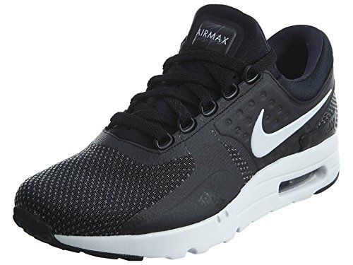 Nike Herre Air Max Nul Væsentligt GymnastikSko, Smokey Blå, Smokey Blå-hvid, 45 Eu Sort (sort / Hvid / Mørkegrå)