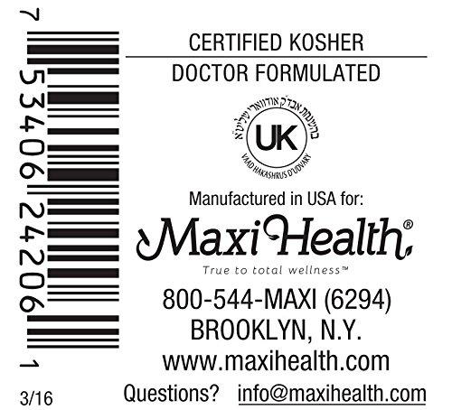 Amazon.com: Maxi Salud Prenatal Caps Multivitamins con ...