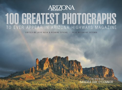 From Navajo families and a Mohave girl to the splendor of the Grand Canyon and the grasslands of Southern Arizona, the 100 images that appear in these pages are the best to have ever been published in Arizona Highways, as chosen by Photo Editor Jeff ...