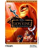 The Lion King (DVD, 2-Disc Set, Platinum Edition)