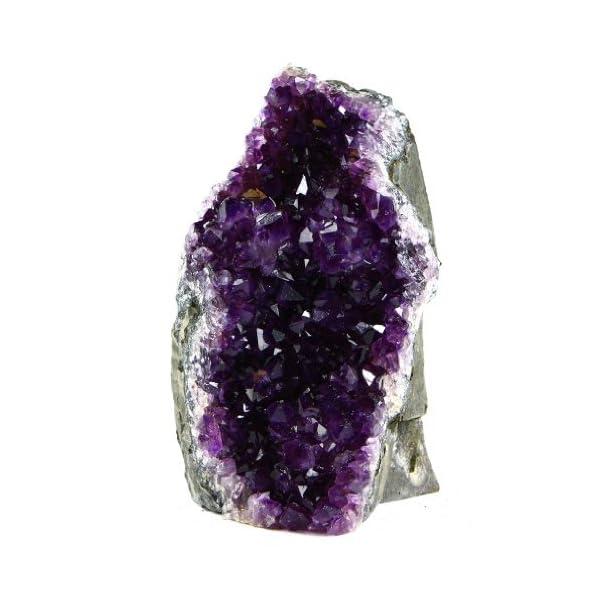 Natural Amethyst Quartz Crystal Cluster from Uruguay