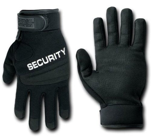 Rapid Dominance Digital Leather Duty Glove - SECURITY - 2XLarge by Rapid Dominance