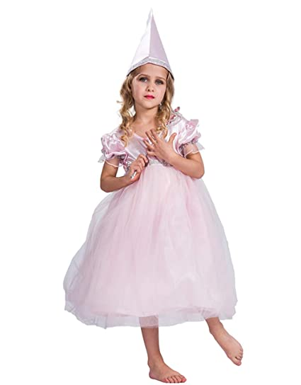 14103e93659 Amazon.com: Halloween Fairy Godmother Costume Gown with Hat for ...