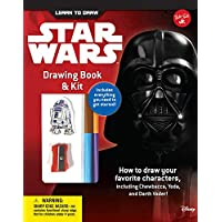 Learn to Draw Star Wars Drawing Book & Kit: How to Draw Your Favorite Characters, Including Chewbacca, Yoda, and Darth…