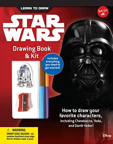 Learn to Draw Star Wars Drawing Book & Kit: Includes everything you need to get started! How to draw your favorite characters, including Chewbacca, Yoda, and Darth Vader! (Licensed Learn to Draw) ()