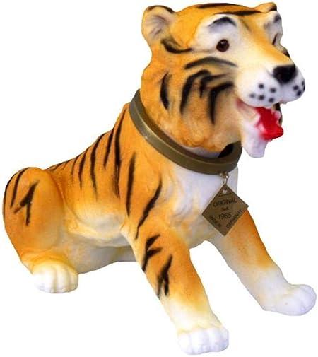 Muñecos con cabezas Tiger 28 cm gnomo de jardín con el perro de peluche PVC decorativo 101 GRS: Amazon.es: Hogar