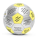 "Share your reaction to whatever prompt lies under your thumb. Thumball is a soft 6"" stuffed ball with loads of applications! The Get Happy at Work discussion prompts help create a more positive workplace by allowing colleagues to share goals, discuss..."