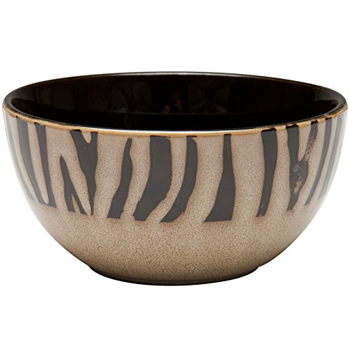 Zebra Print Bowl