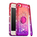 NEXCURIO Glitter Silicone Case for iPhon...