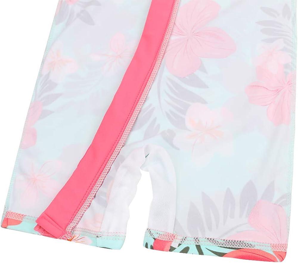 HUAANIUE Baby//Toddler Swimsuit Long Sleeve One-Piece Swimwear Rashguard