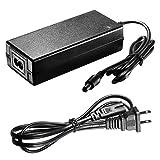 Neewer® 110V/14.8V Power Adapter Battery Charger with Power Cord for 14.8V 4400mah Ring Video Light Battery(Black)