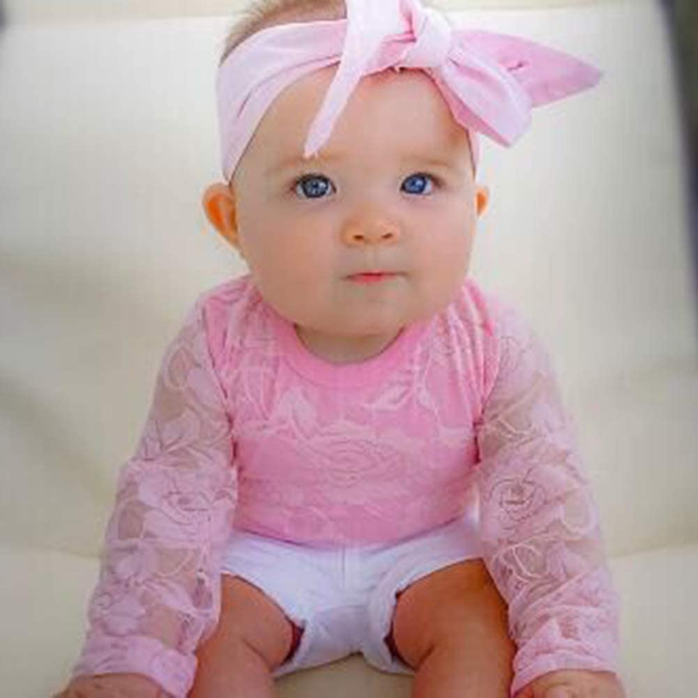 Cute Baby Shorts Newborn Baby Girls Clothes Off Shoulder T-Shirt Top Infant Headbands 3pcs Summer Outfit