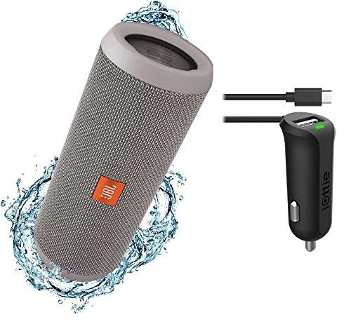 jbl-flip-3-splashproof-portable-bluetooth-speaker-car-charger-bundle-gray