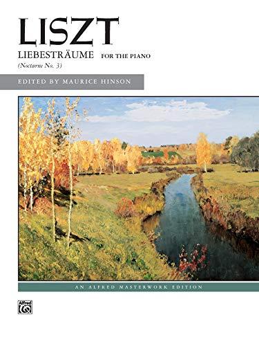 Liebesträume: Sheet (Alfred Masterwork