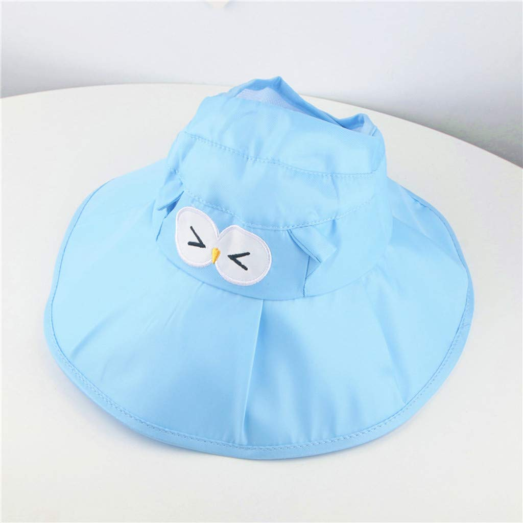 65e0469c5 Amazon.com: Riverdalin Toddler Kids Baby Girl Sun Hat Cartoon ...