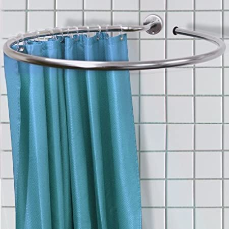 WATSONS Loop - Circular Round Shower Rail and Curtain Rings ...