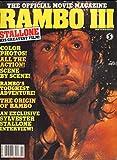 Rambo 3 Movie Magazine & Poster Magazine 1988 Sylvester Stallone