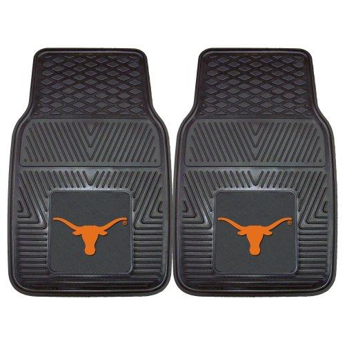 (FANMATS NCAA University of Texas Longhorns Vinyl Heavy Duty Car Mat)