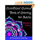 CurioZities' Curious Book of Coloring for Adults (Mandalas)