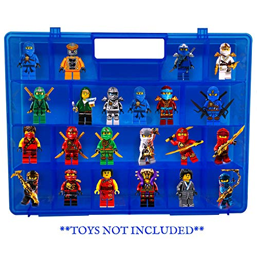 Life Made Better Protector Carrying Case, Compatible with Lego Ninjago Mini Ninja Figurines, This Box is Not Created by -