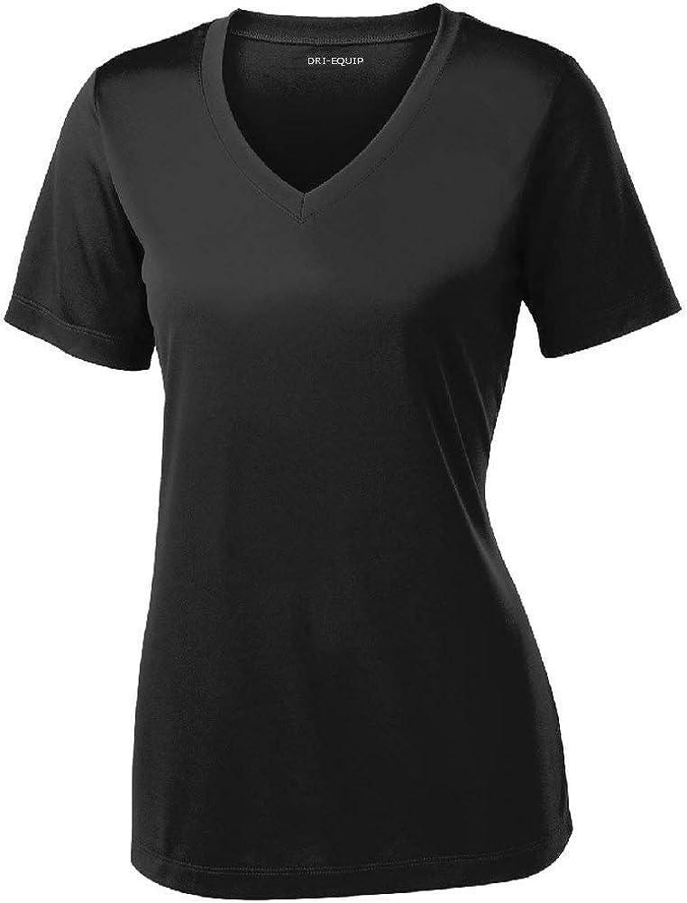 Joe's USA Women's Short Sleeve Moisture Wicking Athletic Shirts Sizes XS-4XL: Clothing