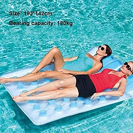 Amazon.com: Swim Party Toys - Juego de cama hinchable de ...