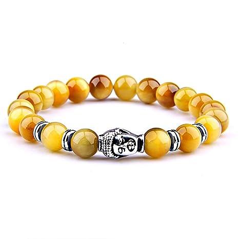 Multicolores 0 Tigre Roulées Véritables Bracelet Process Française Tibétain 8cm Wave Bouddha De Pierres Naturelles Symbole Fashion Œil Marque TOXZiPku