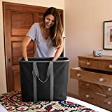 CleverMade - 7070-MBLK-GREY Collapsible Laundry