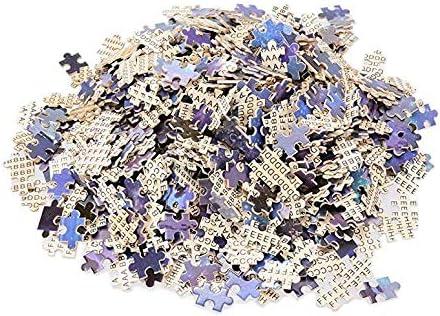 Impressive Puzzle per Adulti 1000 Pezzi-Puzzle per Bambini-Barca al Chiaro di Luna-Decorazione per la casa-Puzzle in Legno-Puzzle educativo-Gioco educativo-Puzzle per Animali-Fai da Te