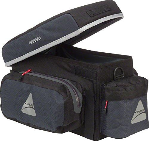 Axiom Randonne 12 Trunk Bag Black / Grey / Silver 12L