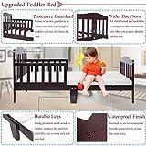 Bonnlo Contemporary Wooden Toddler/Kid Bed Frame