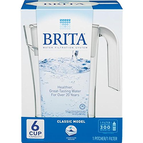 Classic Water Filter Pitcher - Clorox Brita Classic Pitcher