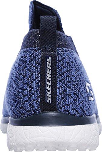 Skechers Microburst-Imagination Mujer US 8 Azul Zapatos para Caminar