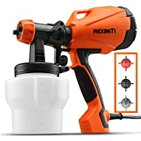 REXBETI Ultimate-750 Paint Sprayer, HVLP Home Power Painter with 3 Spray Patterns Flow Control, 750ml/min