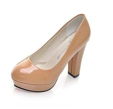 35cf6c137f Amazon.com   Gaorui Women Waterproof high-Heel Wedding Platform Shoe Sexy  Lady Nightclub Party Pump   Pumps