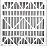 BestAir HW2020-8R Furnace Filter, 20 x 20 x 4, Honeywell Replacement, MERV 8, 3 pack