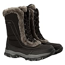 Ohio Women's Snow Boot - Waterproof, Textile Upper with Durable & Breathable IsoTherm Lining, Rubber Outsole - Designed for superior fit and comfort