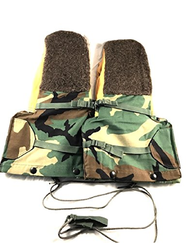 Military Flyers Jacket (Flyers Mittens with Quilted Liner, Air Force, Army Issue, Extreme Cold Weather (Medium))