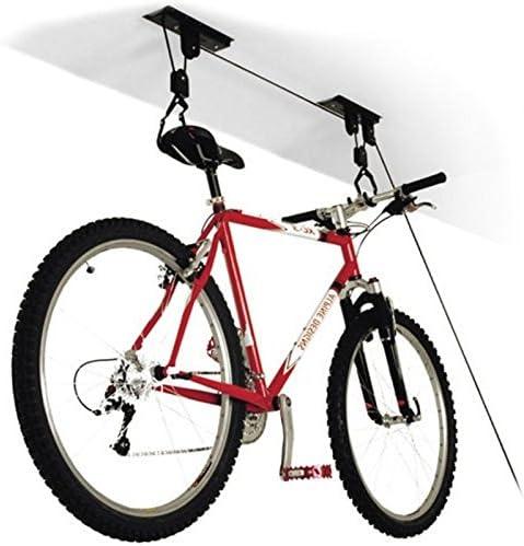 Soporte de Techo con polea y Gancho para Bicicleta: Amazon.es ...