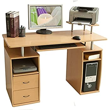 Amazon Com Onespace Rothmin Computer Desk With Storage