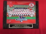 Red Sox 2013 World Series Champions Collector Plaque w/8x10 Team Photo