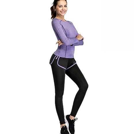 YGXL Sportswear 2 Piezas Juego de chándal Elasticidad. Ropa Deportiva –  Cabestro Sport- cf2fac432e3d