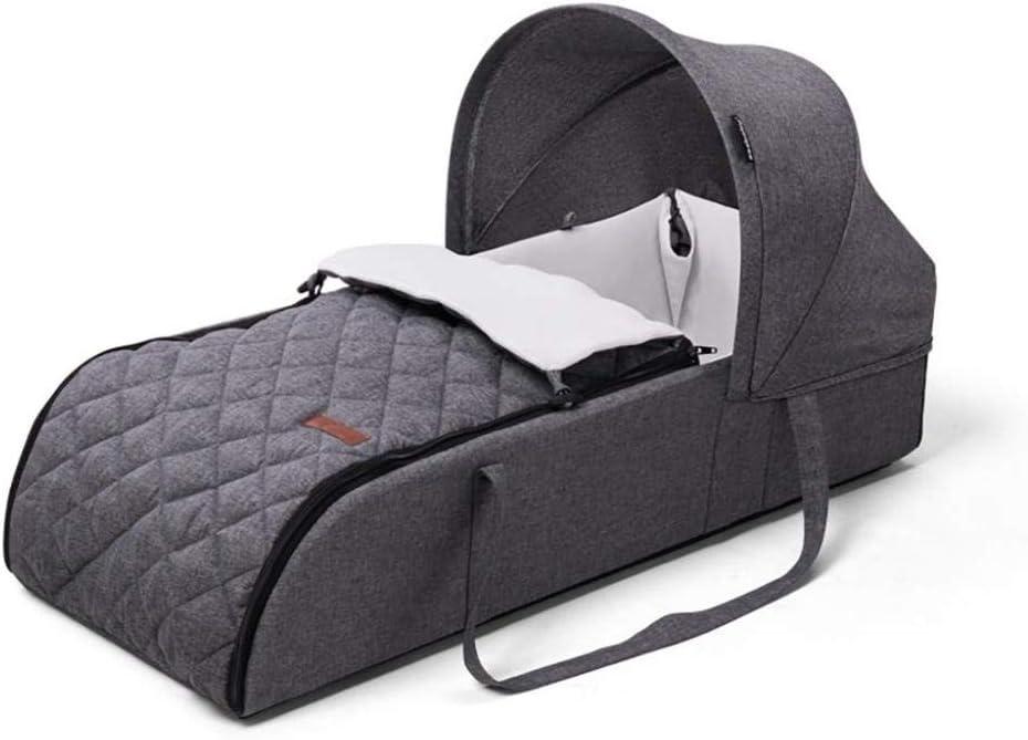 ポータブルベビーベッドクレードルポータブル折りたたみベビーベッドベビークレードルリクライニングチェアベビーネストポッド通気性のあるベッドルームトラベル折りたたみバックパックベッド
