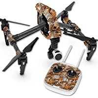 Skin For DJI Inspire 1 Quadcopter Drone – Pheasant Feathers | MightySkins Protective, Durable, and Unique Vinyl Decal wrap cover | Easy To Apply, Remove, and Change Styles | Made in the USA