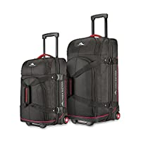 Deals on High Sierra 2PC Wheeled Upright Duffel Set