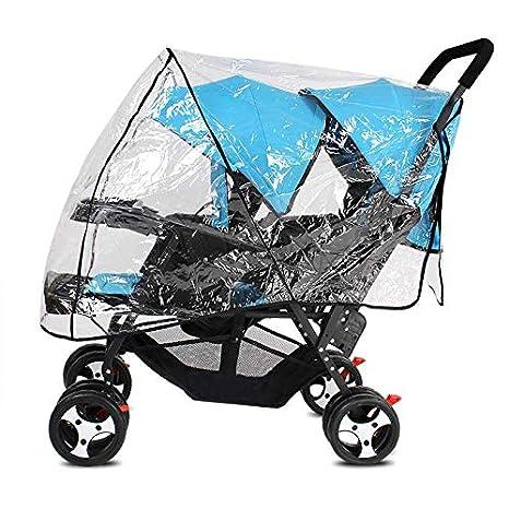 PVC Universal Clear Baby Pushchair Pram Stroller Buggy Wind Raincover Rain Cover