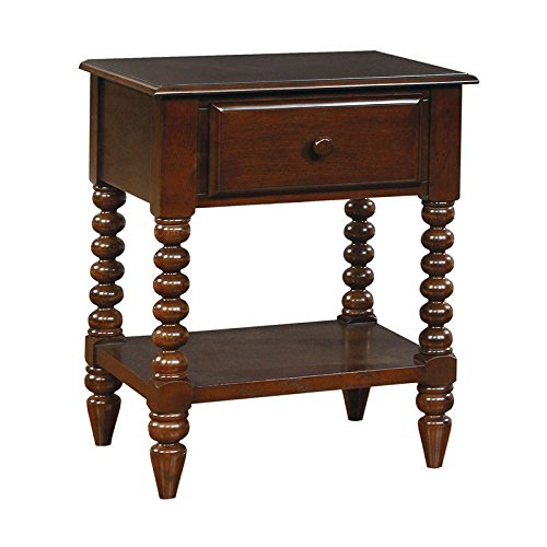 Lindsey Cottage Style Espresso Finish Youth Nightstand by Furniture of America