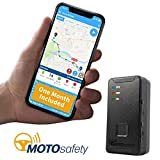 MotoSafety MTAS1_FM Mtas1_Fm Mini Portable Real Time Personal Tracking and GPS Tracker with One Month Included, 4G